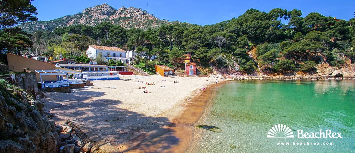 Beach Aiguablava - Begur - Comarques gironines - Spain | Beachrex.com