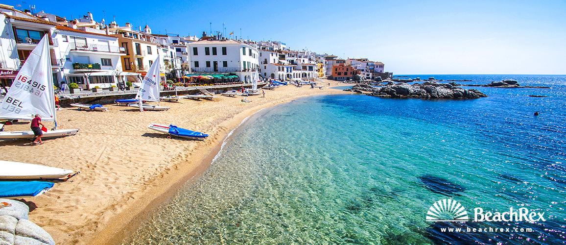 Španjolska - Comarques gironines -  Palafrugell - Plaža Port Bo