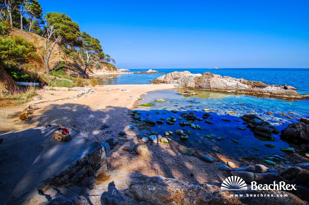 Spain - Comarques gironines -  Palamós - Beach de Cap de Planes