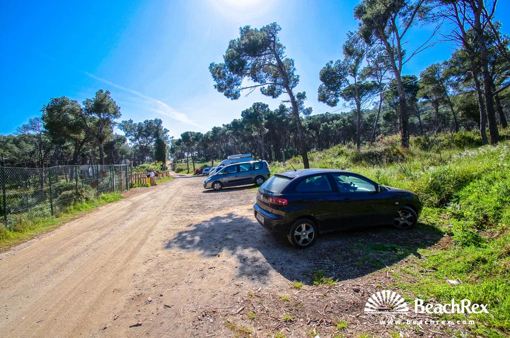 Spain - Comarques gironines -  Palamós - Beach Estreta