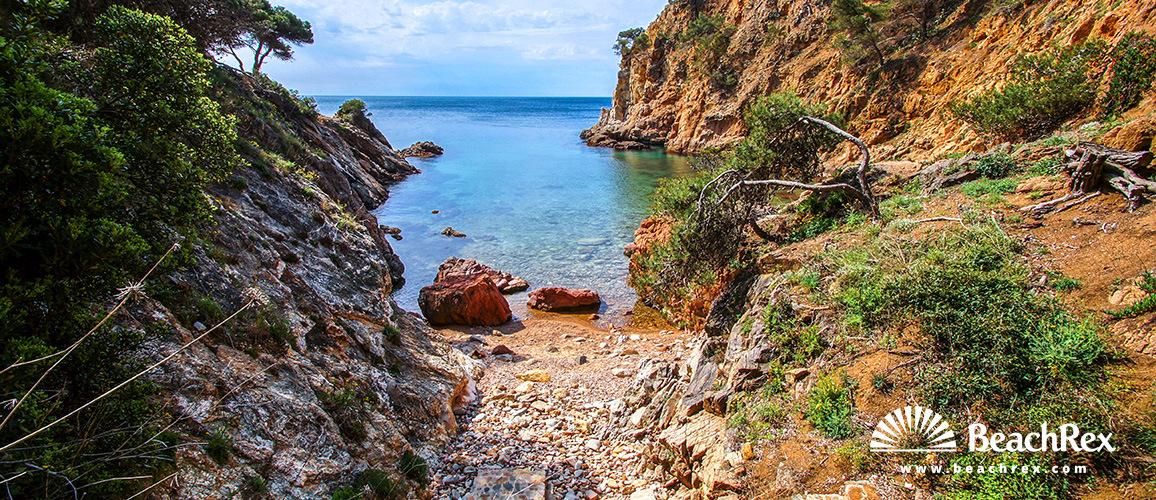 Spain - Comarques gironines -  Palamós - Beach dels Corbs