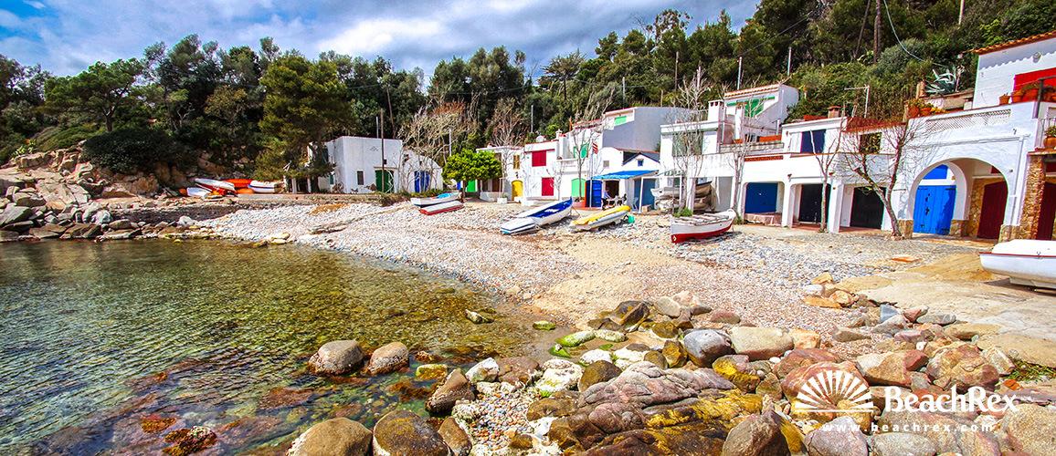 Spain - Comarques gironines -  Palamós - Beach S'Alguer