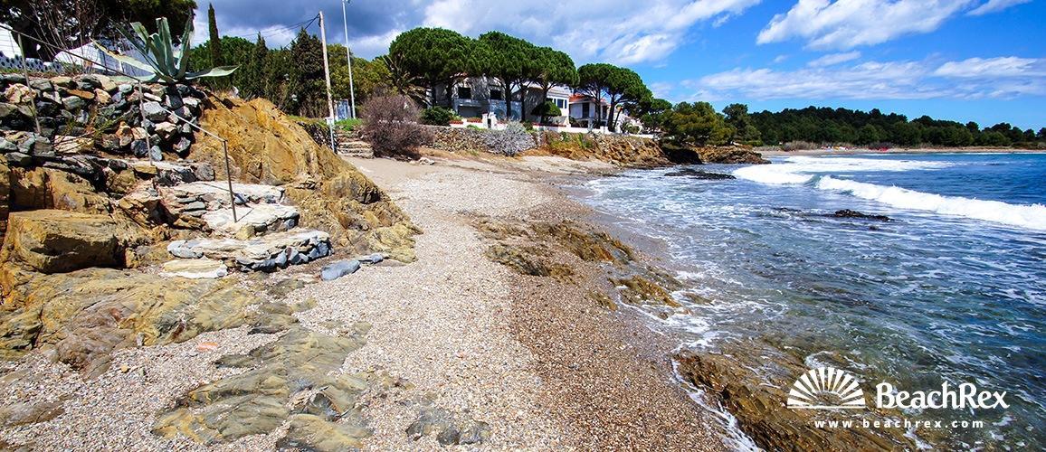 Spain - Comarques gironines -  Llanca - Beach El Cros