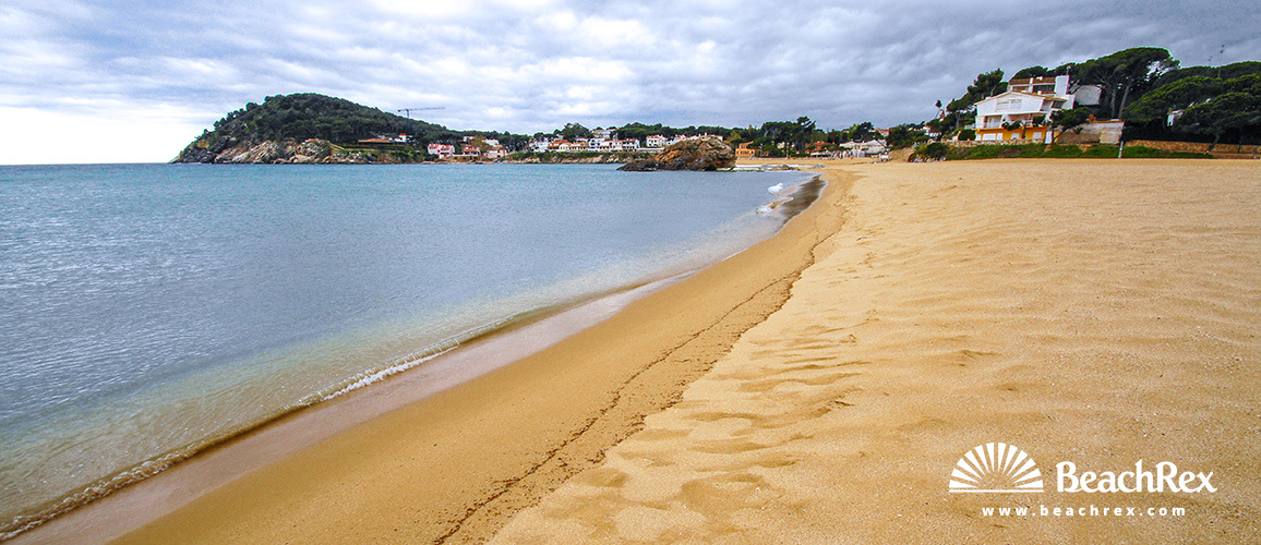 Spain - Comarques gironines -  Palamós - Beach La Fosca