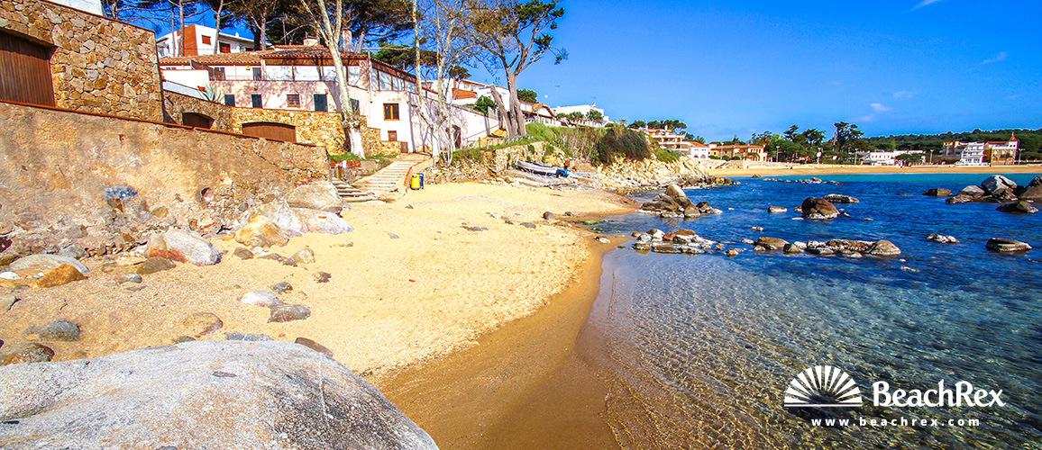 Spain - Comarques gironines -  Palamós - Beach Sa Tamardia