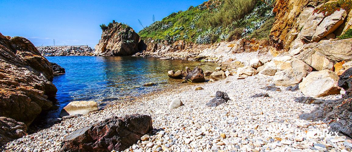Spain - Comarques gironines -  Palamós - Beach de les Pots