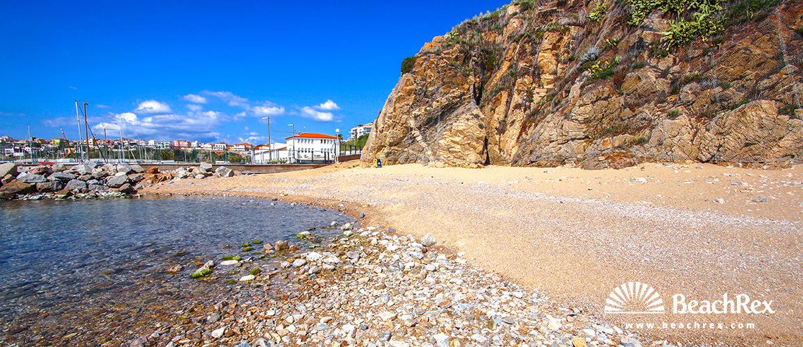 Spain - Comarques gironines -  Palamós - Beach de Morro del Vedell