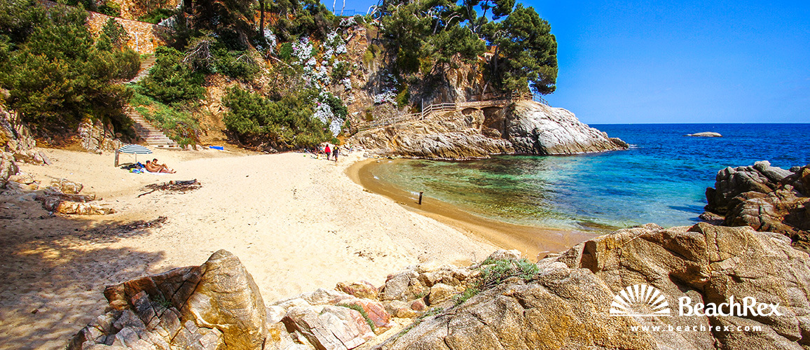 Spain - Comarques gironines -  Calonge - Beach del Paller