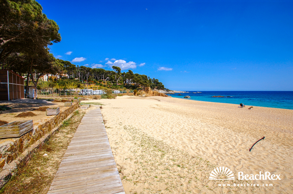 Spain - Comarques gironines -  Calonge - Beach del Forn