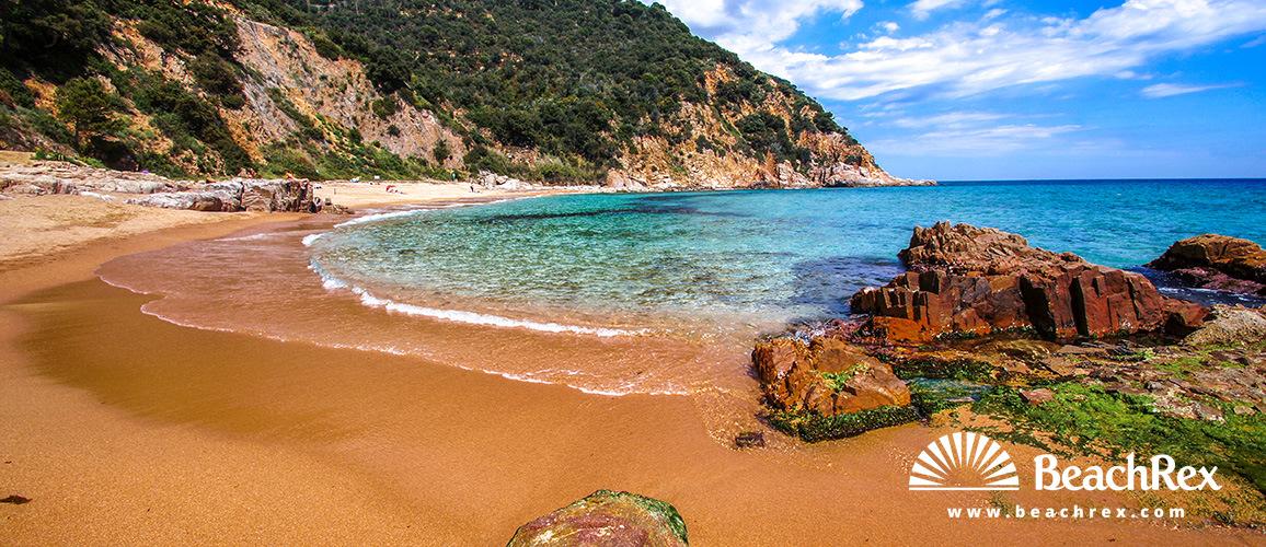 Spain - Comarques gironines -  Santa Cristina d'Aro - Beach dels Canyerets