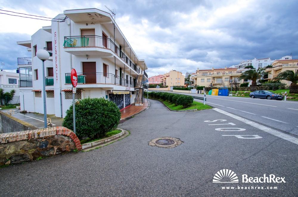 Spain - Comarques gironines -  Llanca - Beach d'en jordi