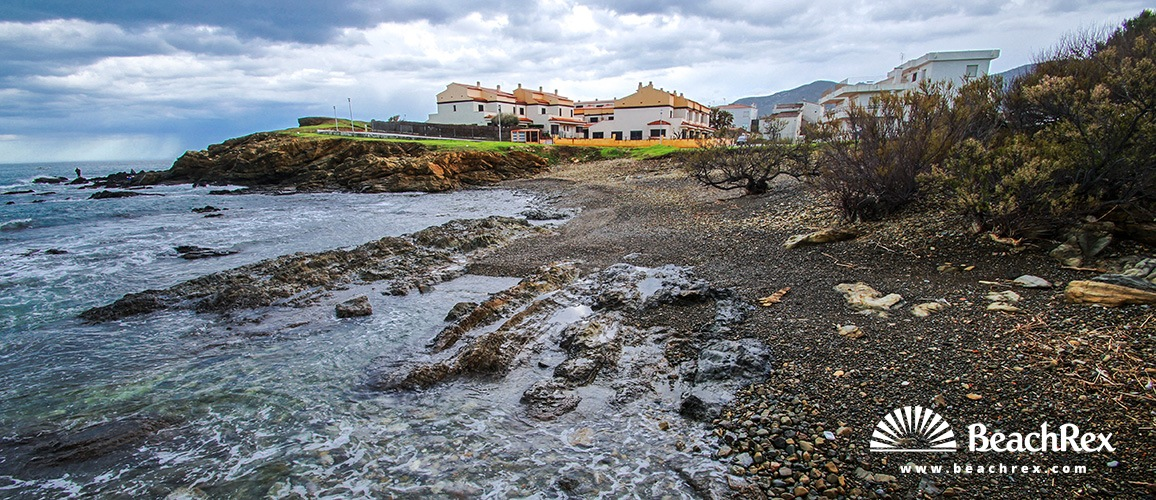 Spain - Comarques gironines -  Llanca - Beach l'Argilera
