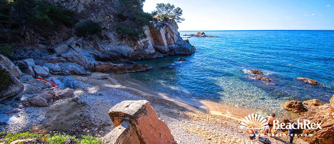 Španjolska - Comarques gironines -  Tossa de Mar - Plaža Llevado