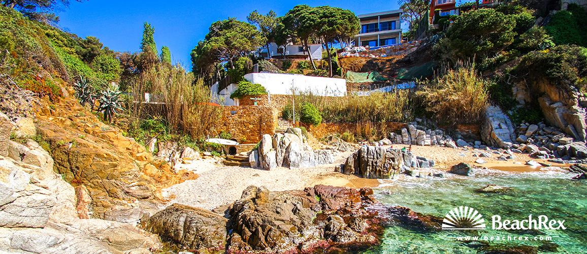 Spain - Comarques gironines -  Lloret de Mar - Beach d'en Trons