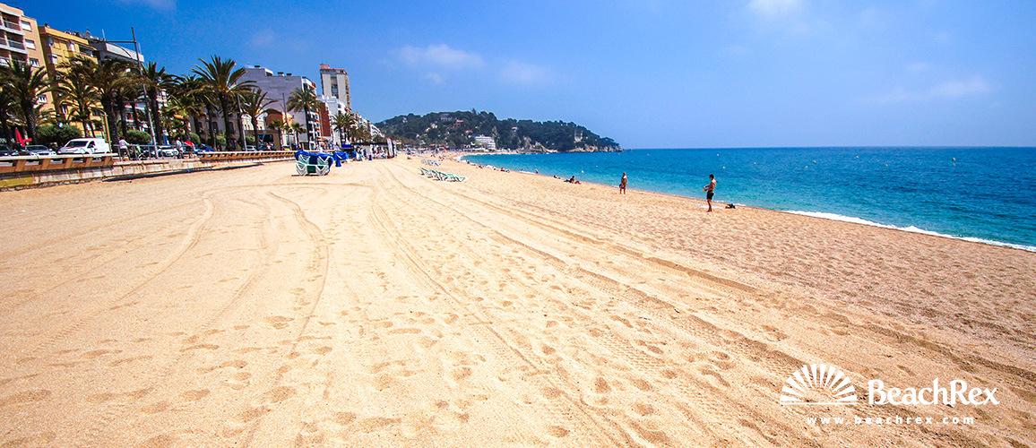 Spain - Comarques gironines -  Lloret de Mar - Beach de Lloret