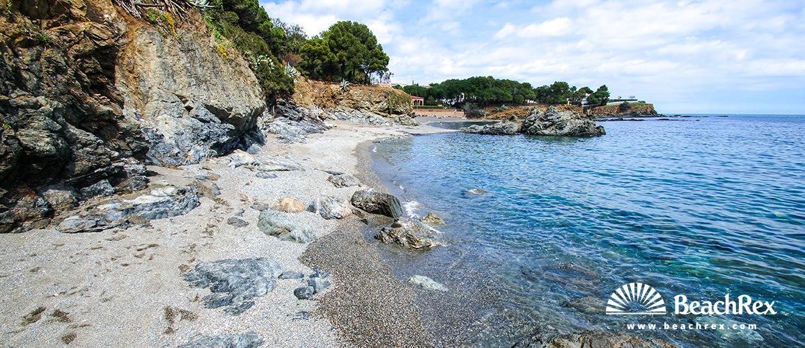 Spain - Comarques gironines -  Llanca - Beach Farella