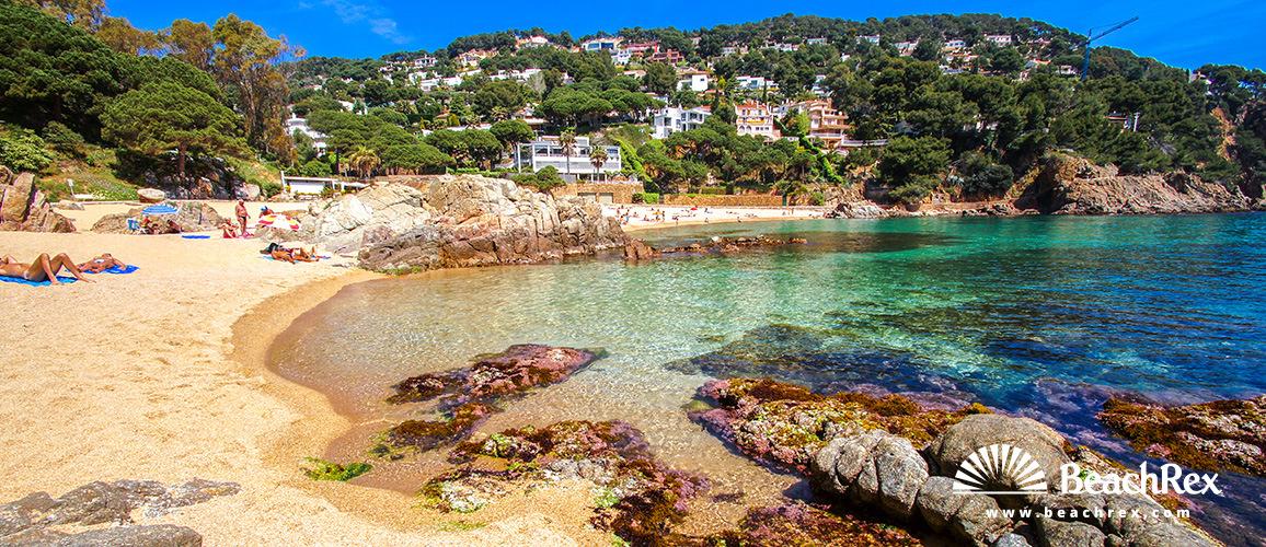 Spain - Comarques gironines -  Blanes - Beach de Sant Francesc