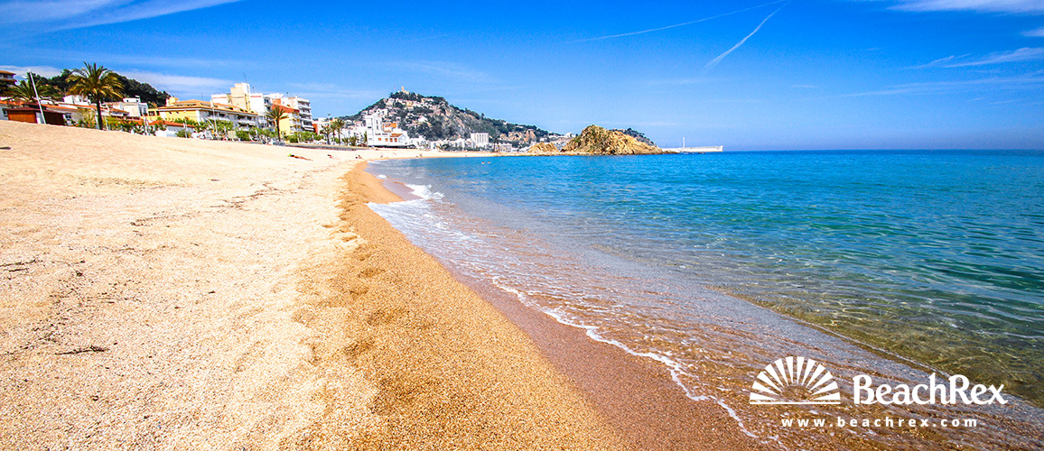 Spain - Comarques gironines -  Blanes - Beach Blanes