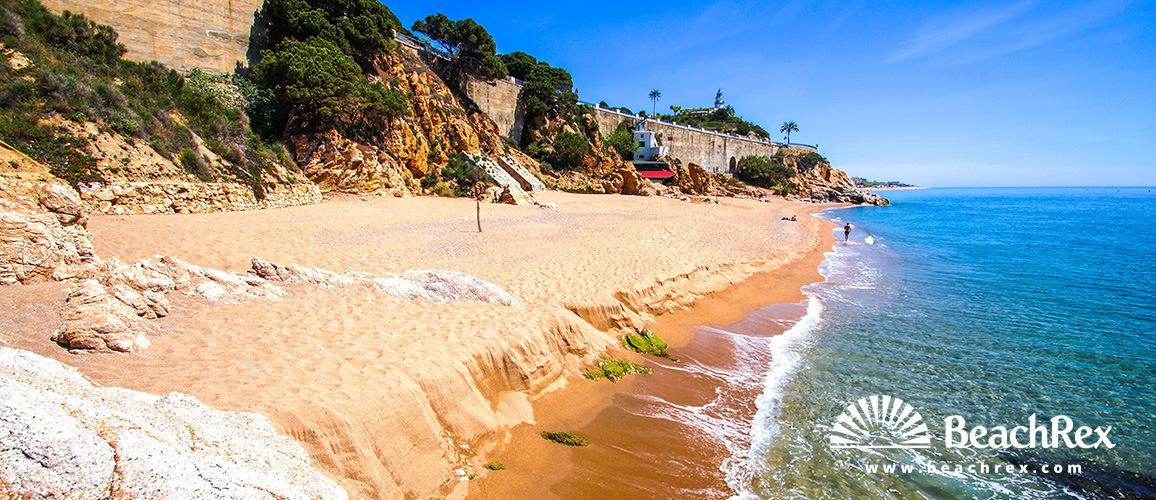 Spain - Àmbit metropolità -  Calella - Beach Roca Pins