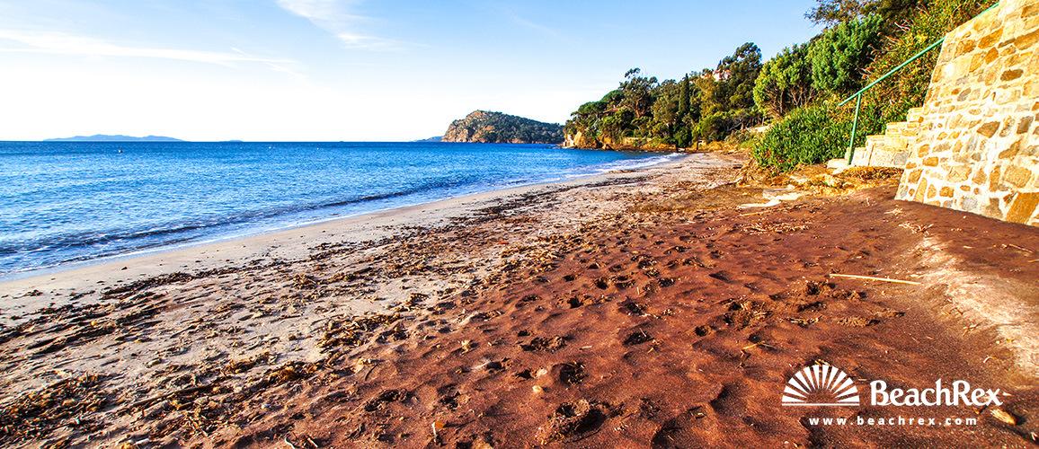 France - Var -  Rayol-Canadel-sur-Mer - Beach de Canadel Ouest