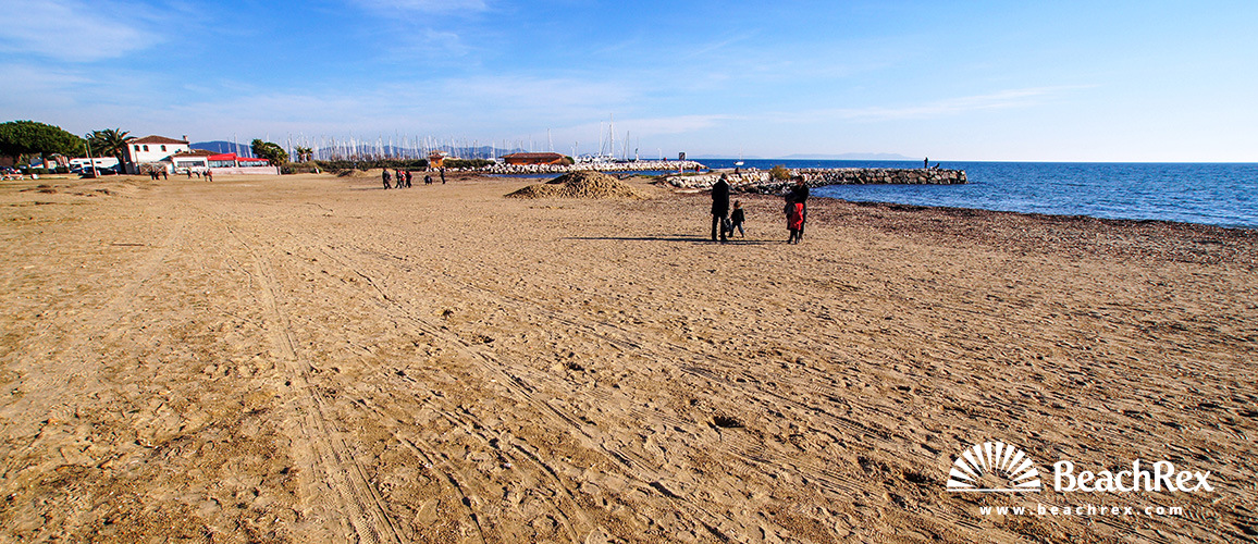 France - Var -  La Londe-les-Maures - Beach Miramar