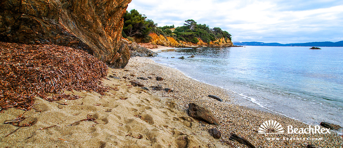 France - Var -  Hyères - Beach du Gabian