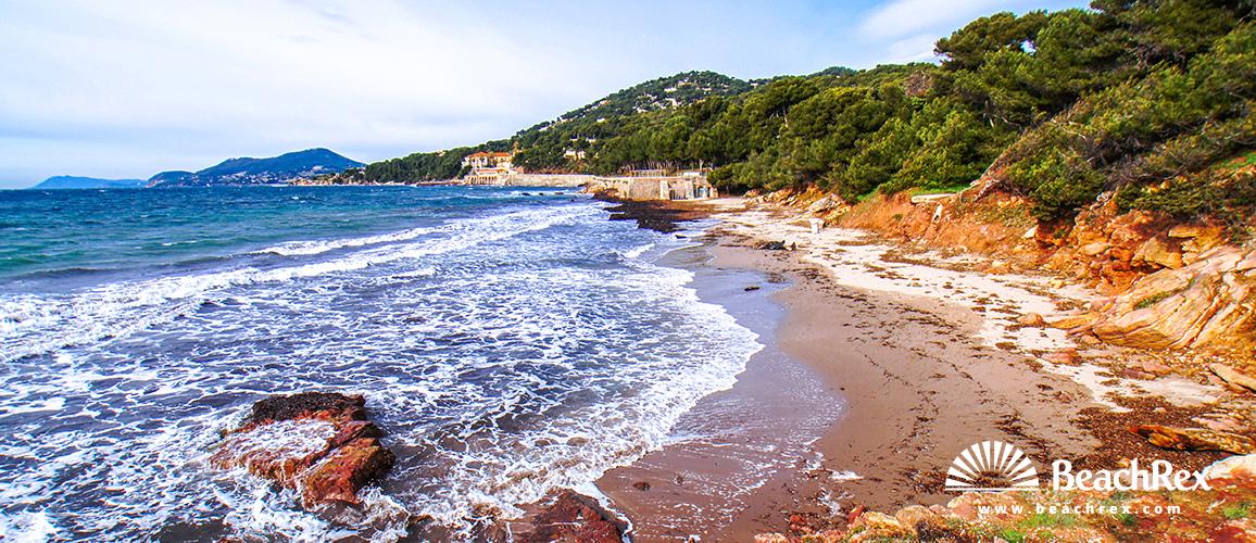 France - Var -  Hyères - Beach du Port Hélène