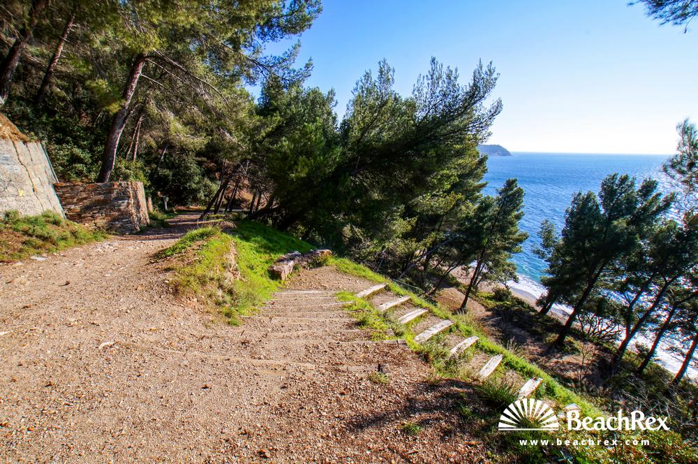 France - Var -  Le Pradet - Beach de Monaco