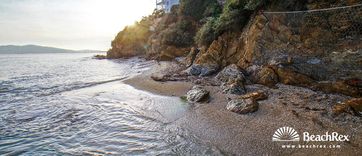 France - Var -  Toulon - Beach de Belle Rive