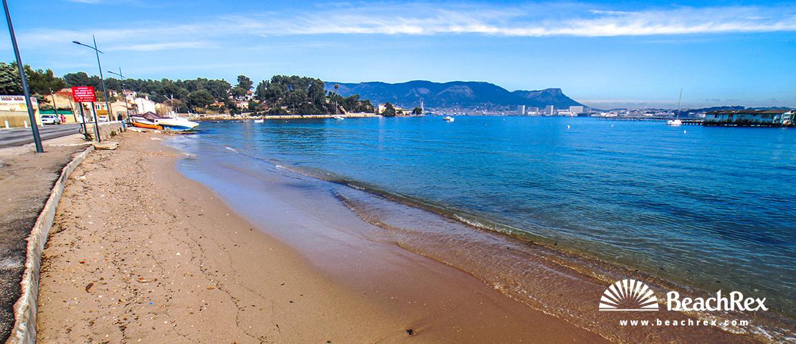France - Var -  La Seyne-sur-Mer - Beach de Balaguier