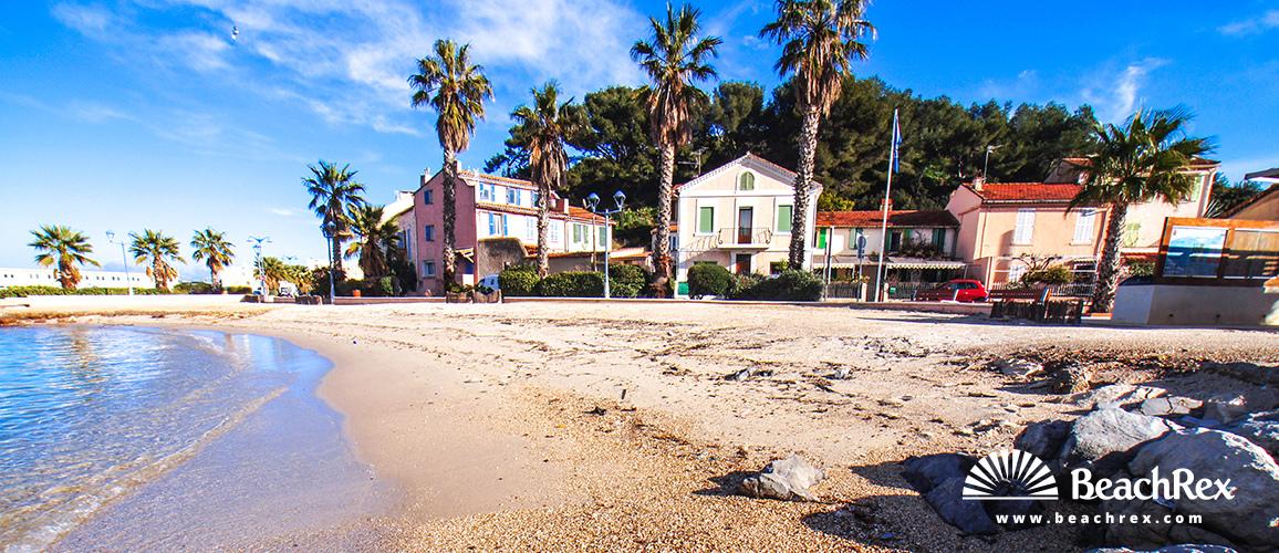 France - Var -  Saint-Mandrier-sur-Mer - Beach du Canon
