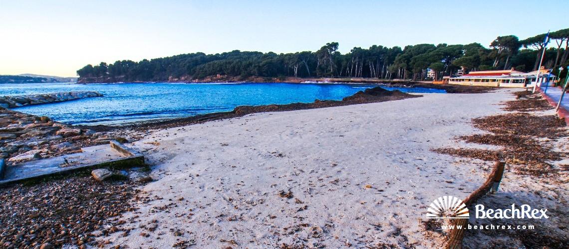 France - Var -  Saint-Mandrier-sur-Mer - Beach de Sainte-Asile
