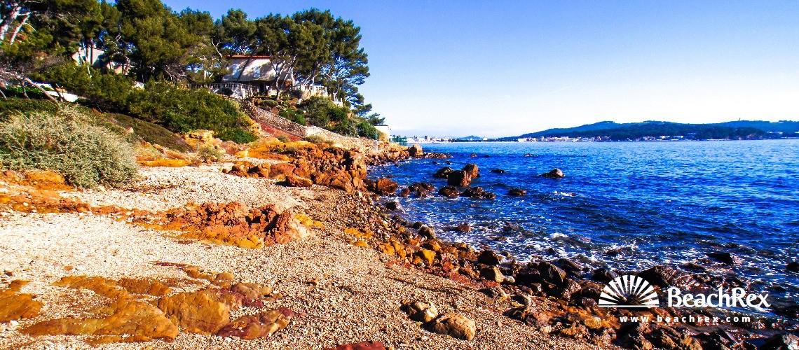 France - Var -  La Seyne-sur-Mer - Beach de la Vernette