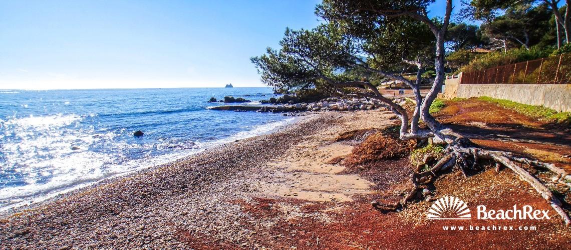 France - Var -  La Seyne-sur-Mer - Beach de la Verne
