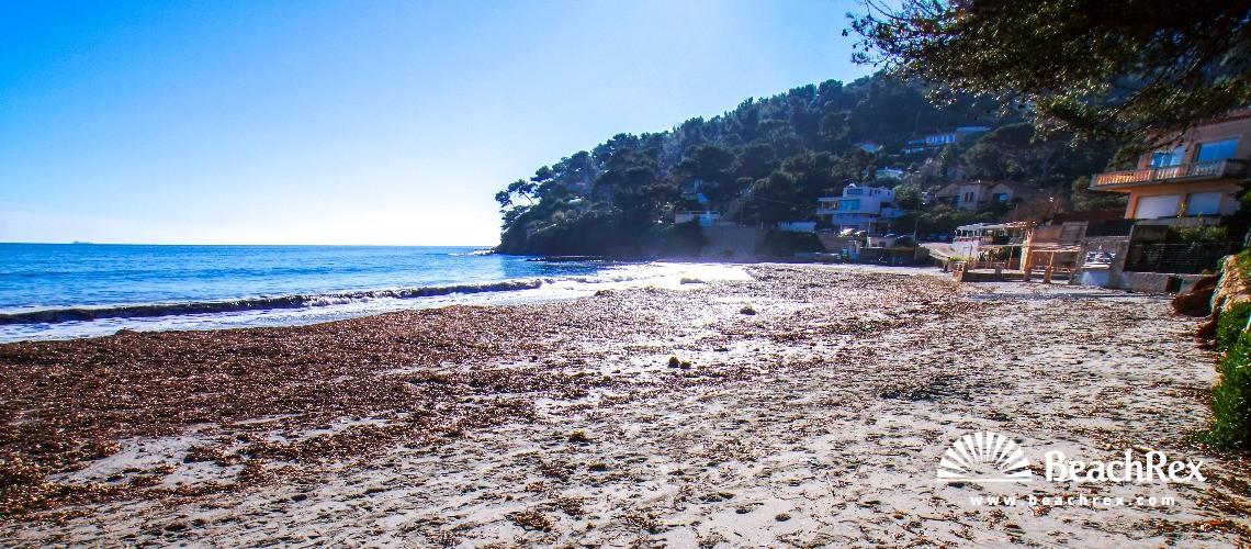 France - Var -  La Seyne-sur-Mer - Beach de Fabrégas