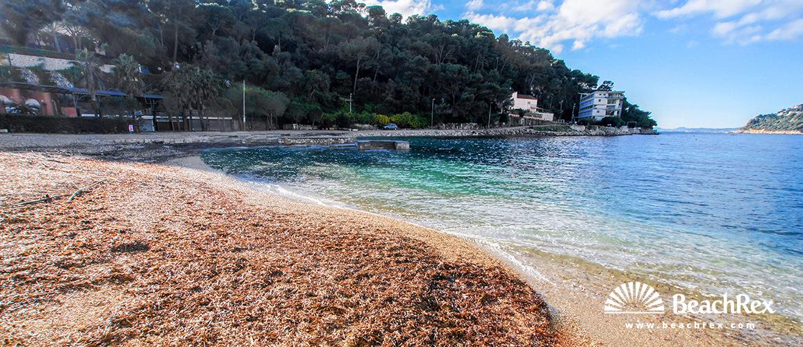 France Alpesmaritimes Saint Jean Cap Ferrat Beach Pable