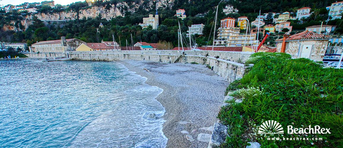 France - AlpesMaritimes -  Villefranche-sur-Mer - Beach Darse