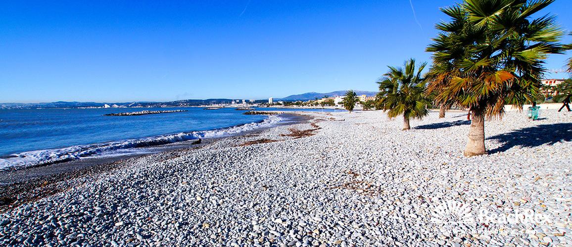 France - AlpesMaritimes -  Saint-Laurent-du-Var - Beach de la Base Nautique
