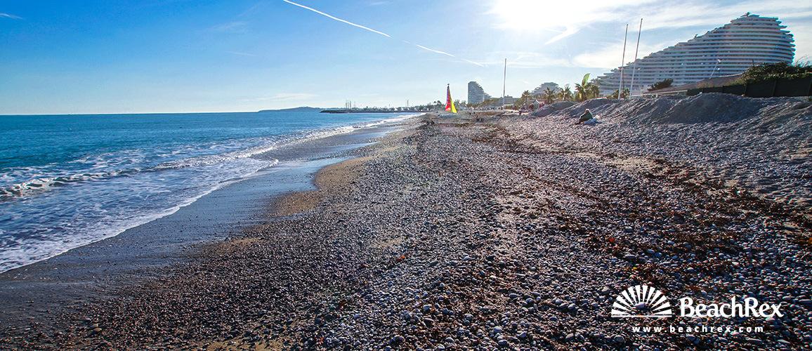 France - AlpesMaritimes -  Villeneuve-Loubet - Beach de la Batterie