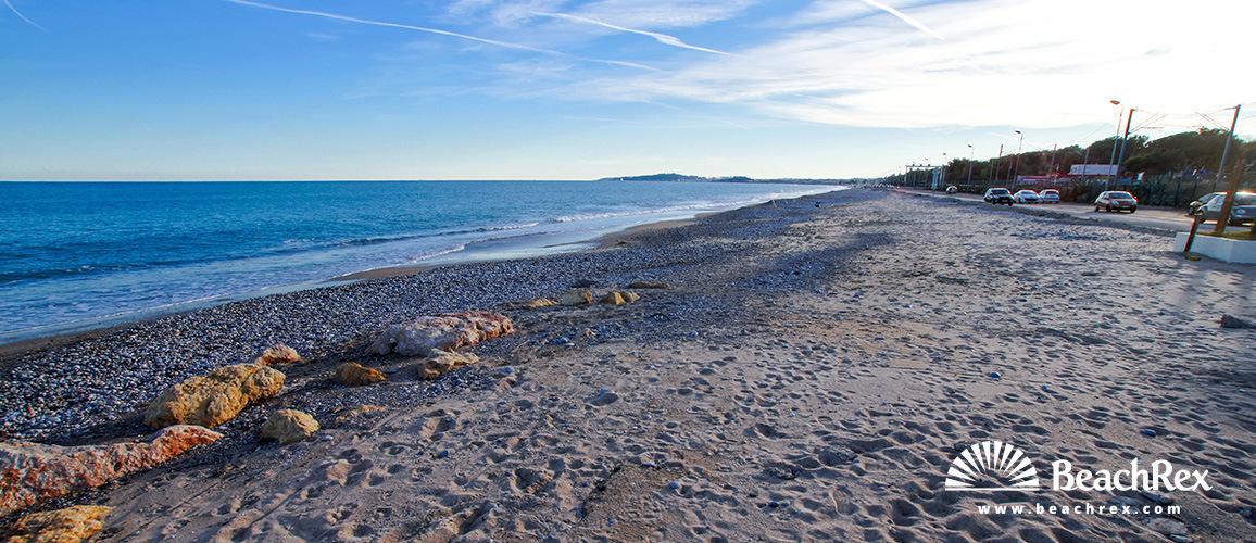 France - AlpesMaritimes -  Villeneuve-Loubet - Beach Vaugrenier