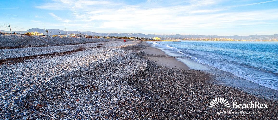 France - AlpesMaritimes -  Antibes - Beach de la Fontonne