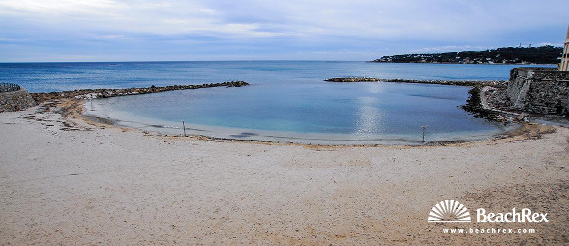 France - AlpesMaritimes -  Antibes - Beach de la Gravette