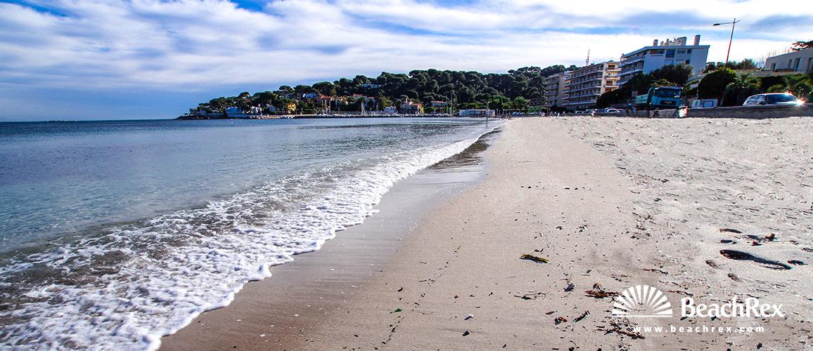 France - AlpesMaritimes -  Antibes - Beach de la Salis