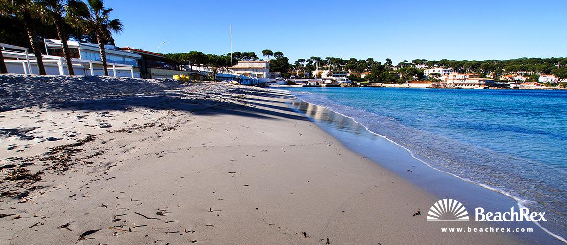 France - AlpesMaritimes -  Antibes - Beach de la Garoupe