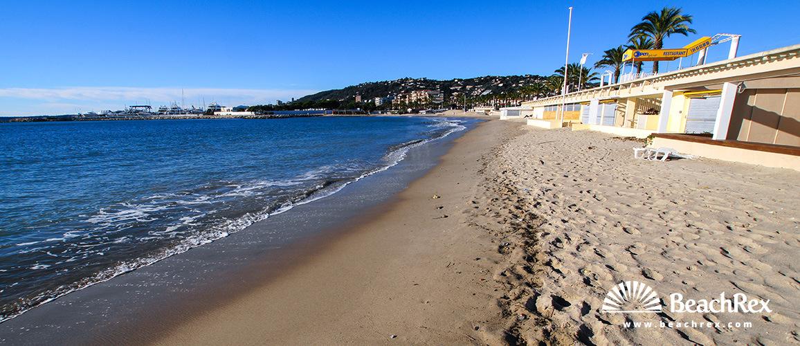 France - AlpesMaritimes -  Antibes - Beach du Midi