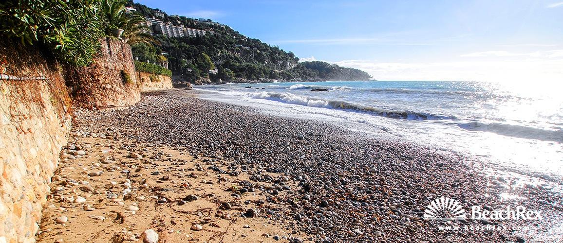 France - AlpesMaritimes -  Roquebrune-Cap-Martin - Beach Buse