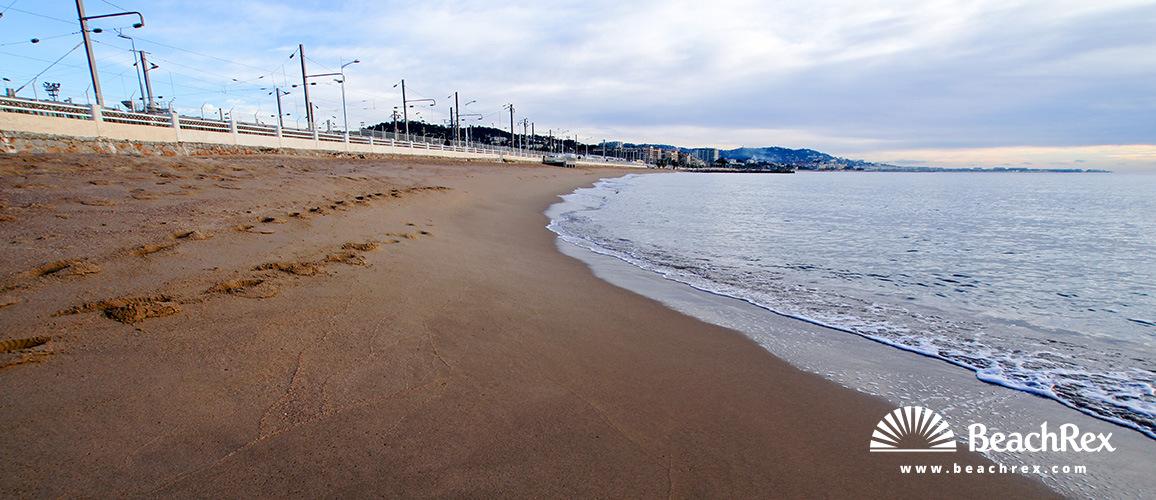 France - AlpesMaritimes -  Cannes - Beach Roubine