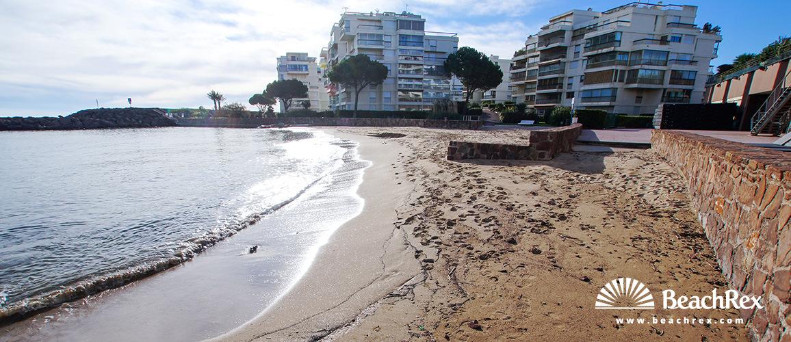 France - AlpesMaritimes -  Mandelieu-la-Napoule - Beach Fon Marina