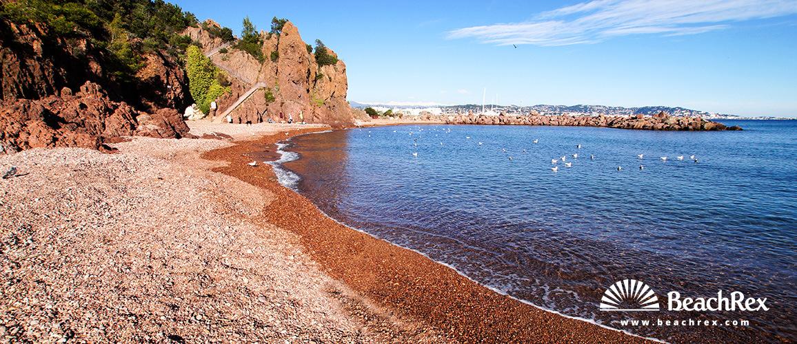 France - AlpesMaritimes -  Mandelieu-la-Napoule - Beach de la Rague
