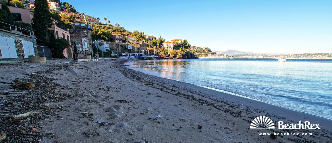 France - AlpesMaritimes -  Théoule-sur-Mer - Beach de Suveret